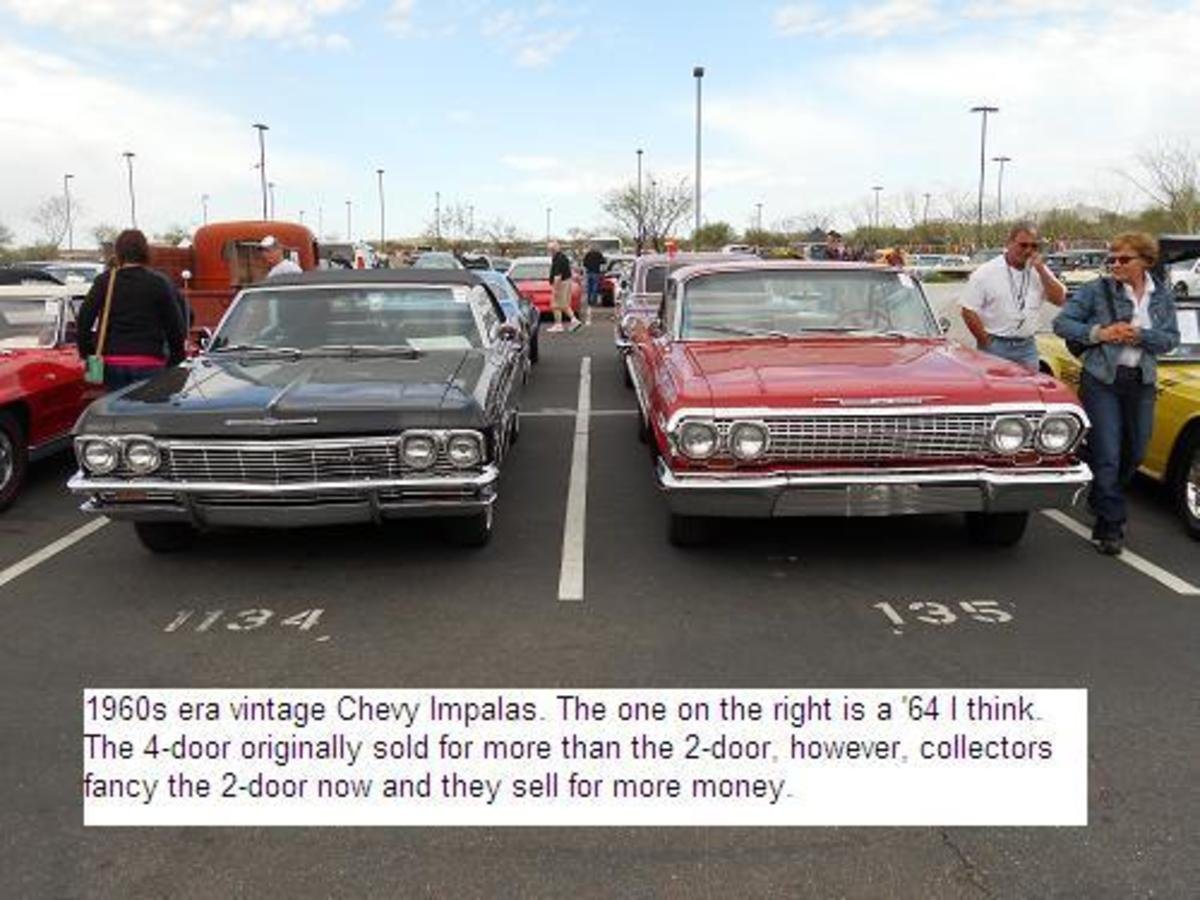 Arizona Classic Vintage Old Cars for Sale Attract Huge Crowds
