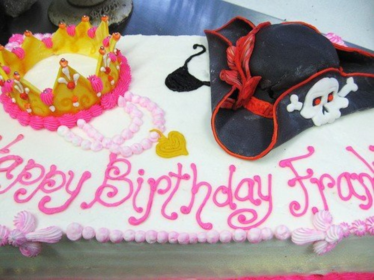 Princess Pirate Cake