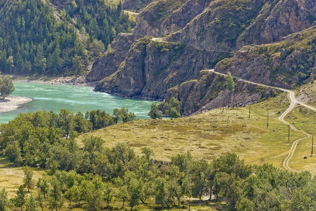 In the Altai Mountains