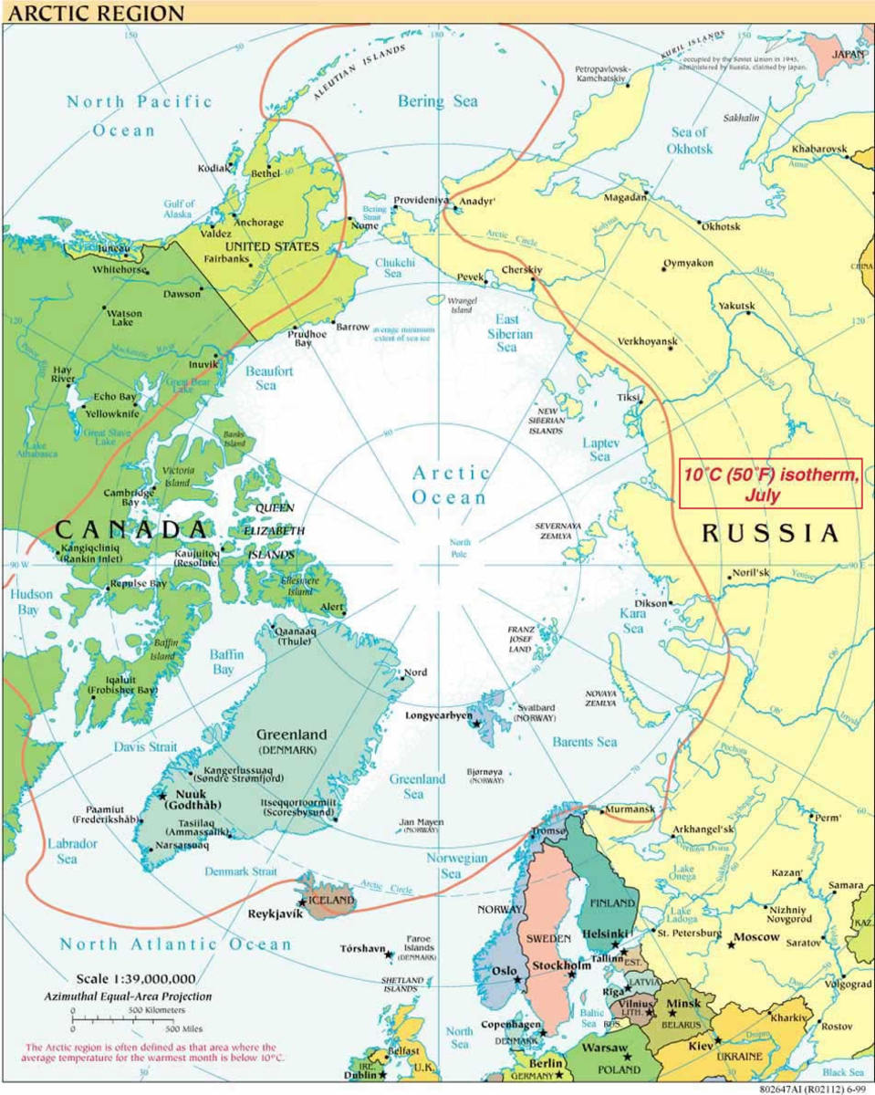 Native American Nations and Their Genetic Trail Around the Arctic Circle