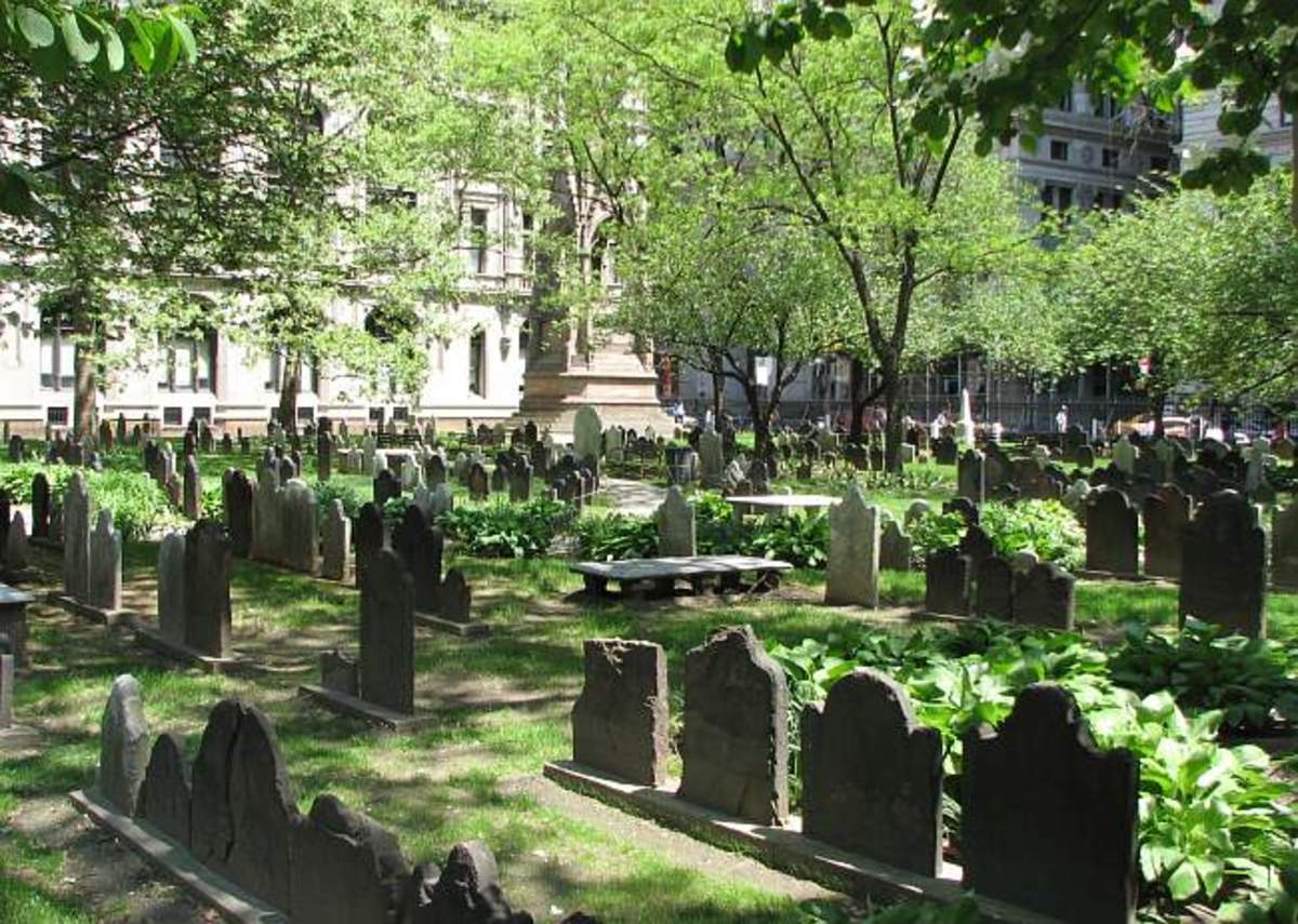 TRINITY CHURCH CEMETERY NEW YORK CITY