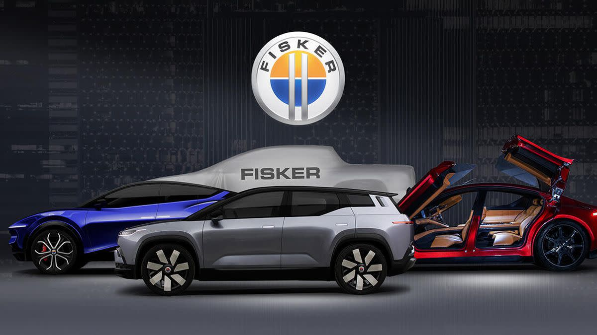 Fisker Ocean is a sleek electric SUV