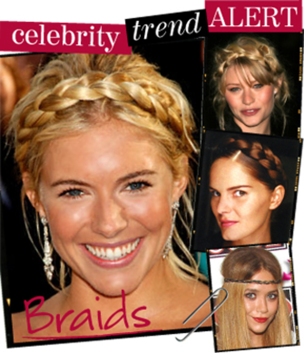 A Collection of Hair Braids / Popular and Different Kinds of Braiding Styles and Looks