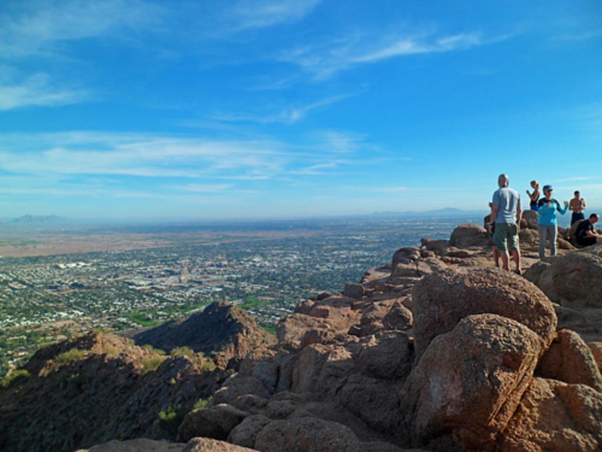 Enjoy a big blue sky on the summit!