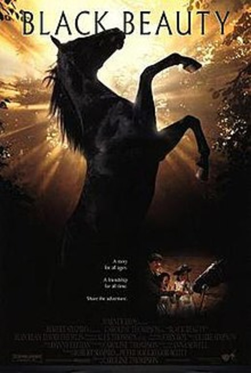 Black Beauty, movie poster 1994