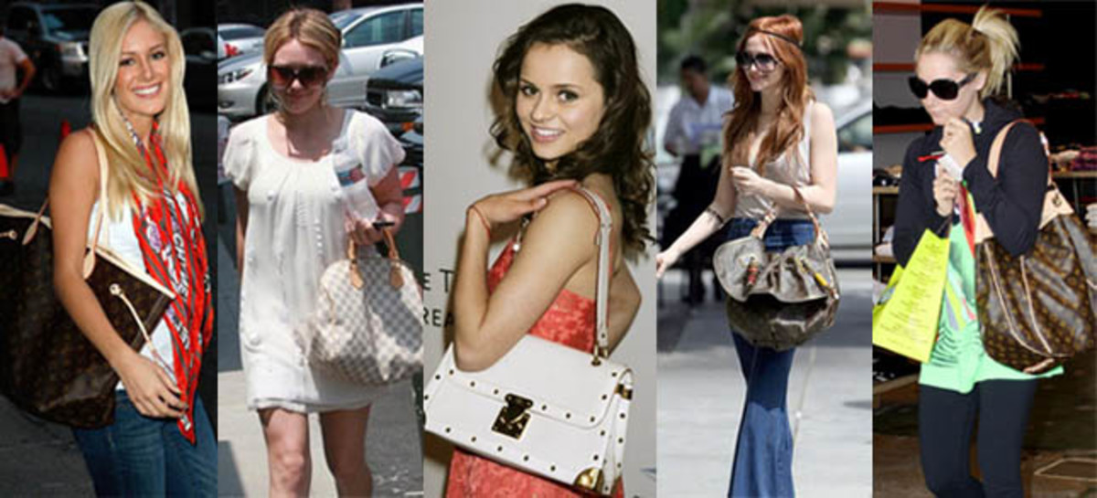 Celebrities Carrying Louis Vuitton Handbags