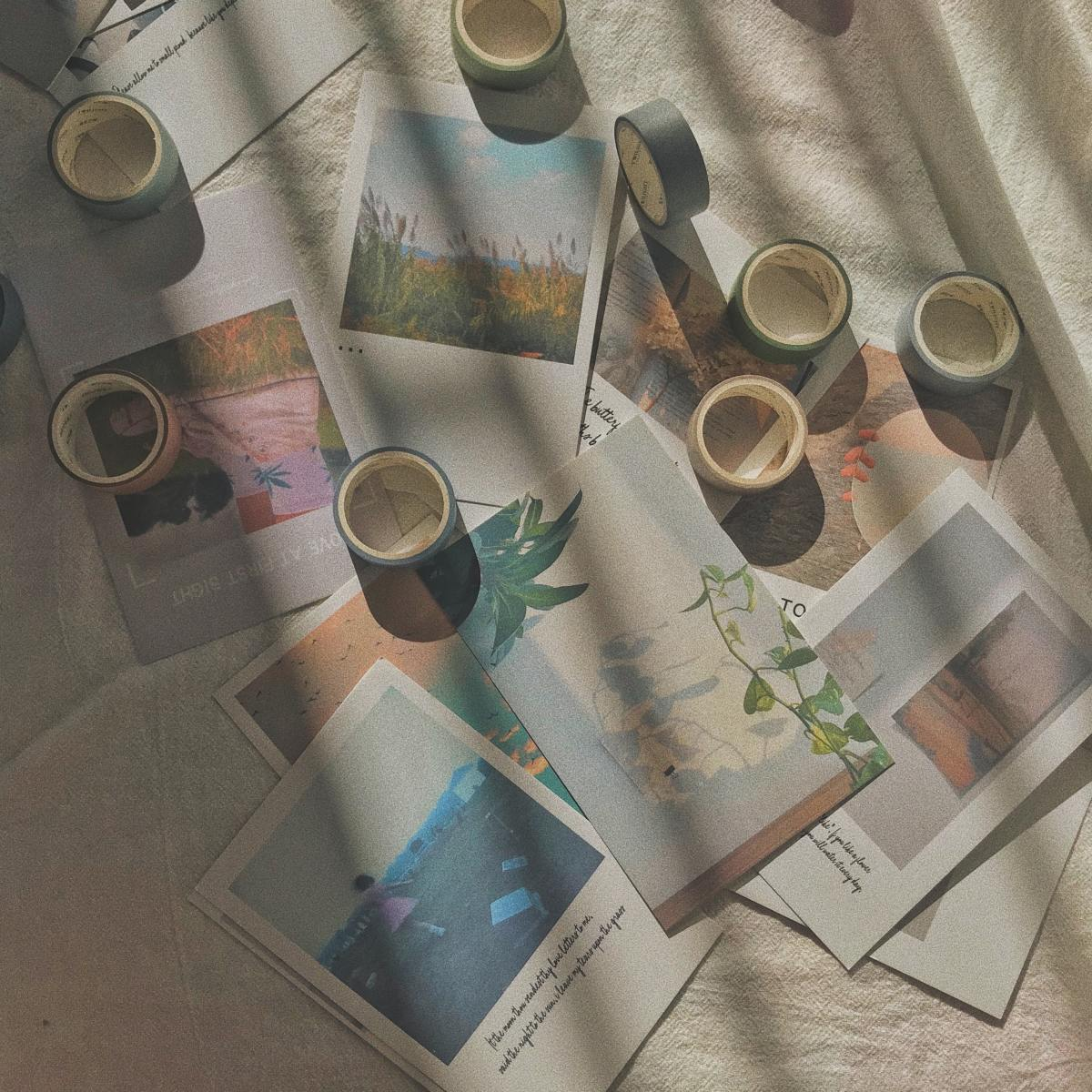 These aesthetic photos would look lovely in any bullet journal!
