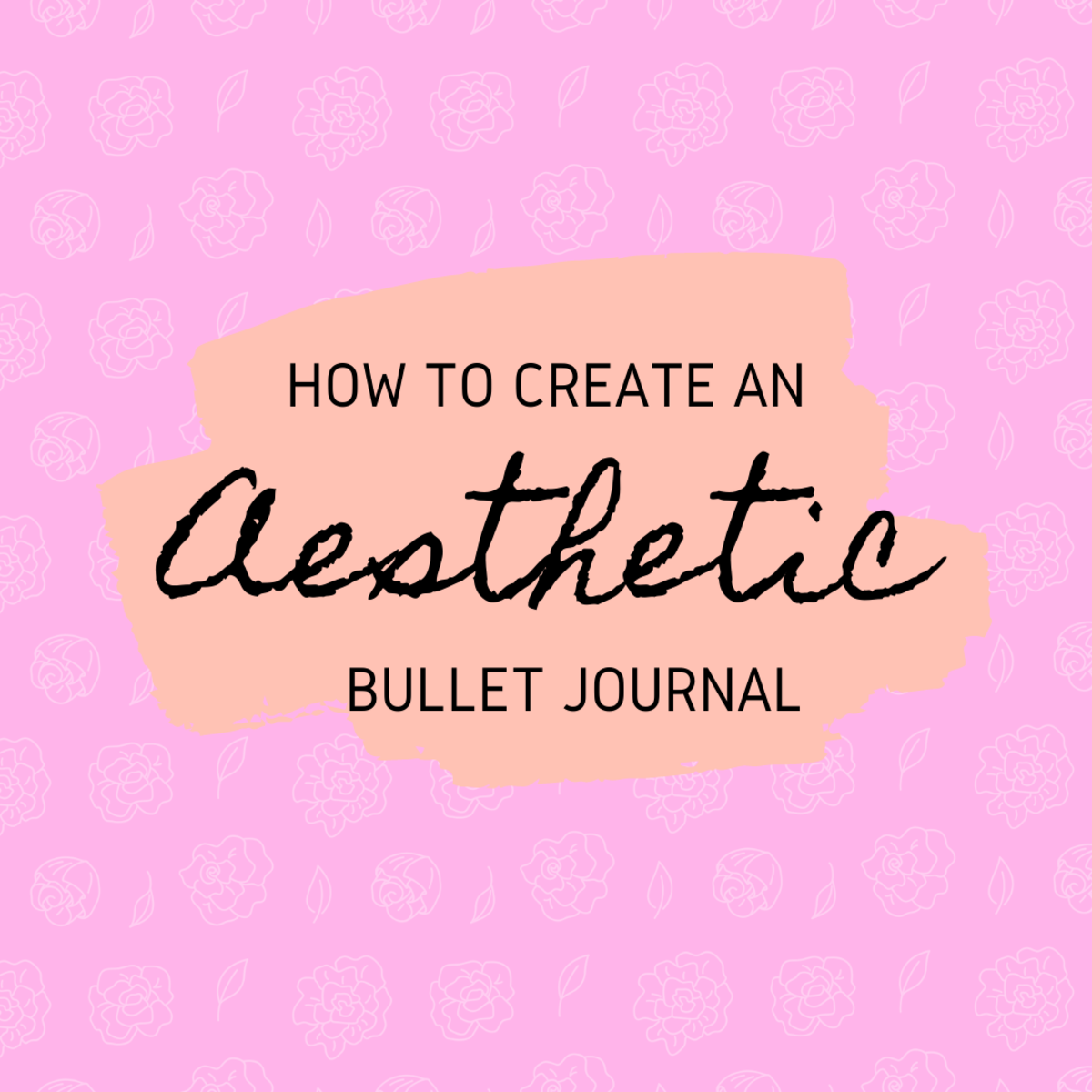 In this guide, I'm going to show you how to create an aesthetic bullet journal!