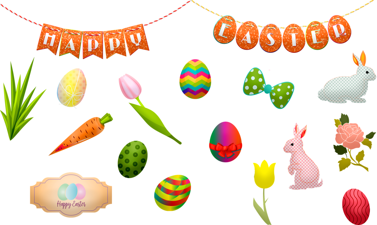 Some Easter illustrations to help inspire you!