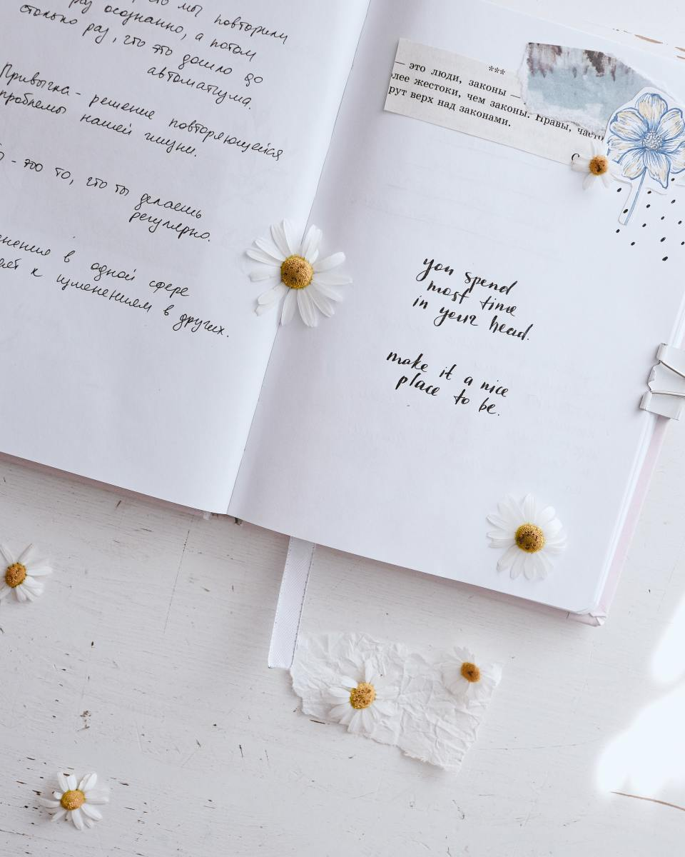 The daisies add such a beautiful effect!