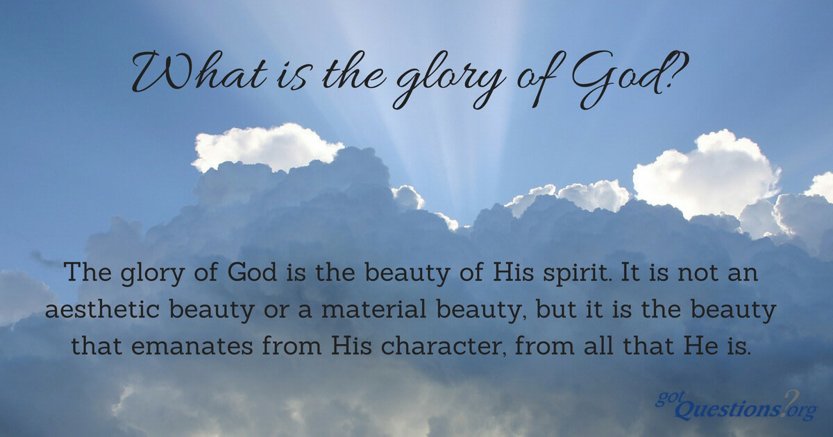 The creation declares the glory of God and is enough to convict and send one to hell.