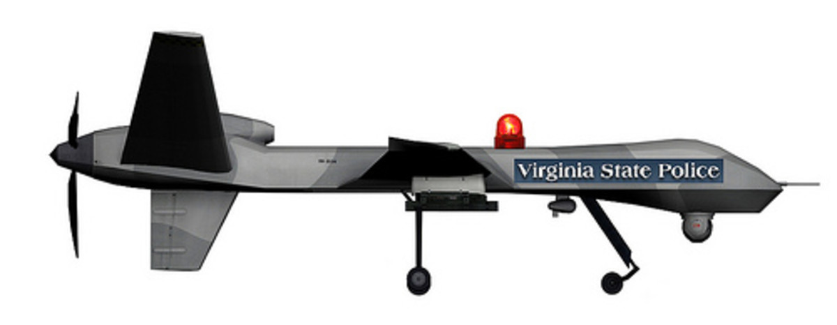 Virginia Police use this model drone.