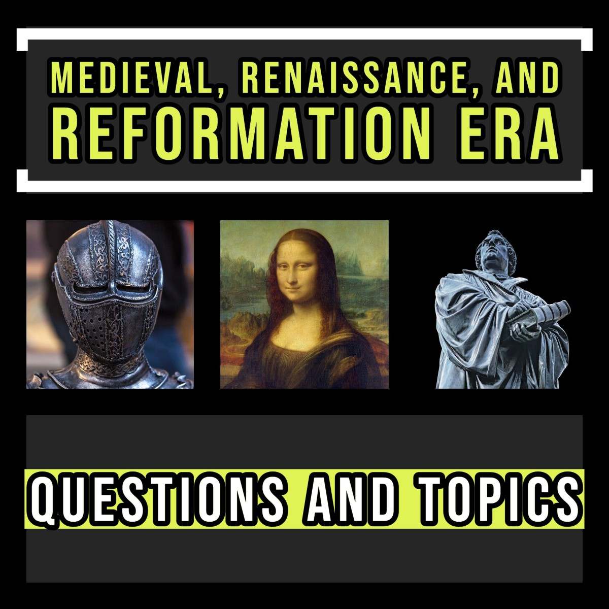 Medieval, Renaissance, and Reformation topics and questions.