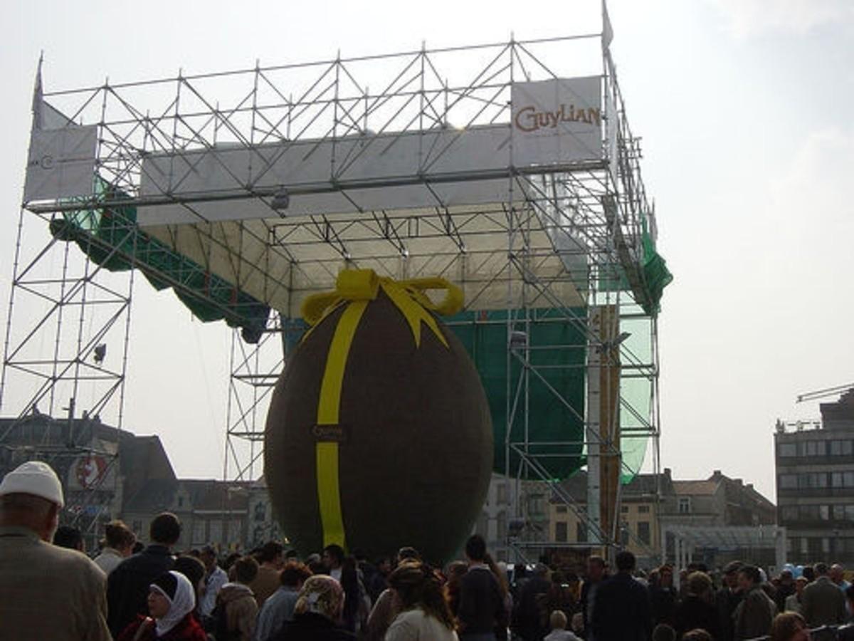 largest easter egg