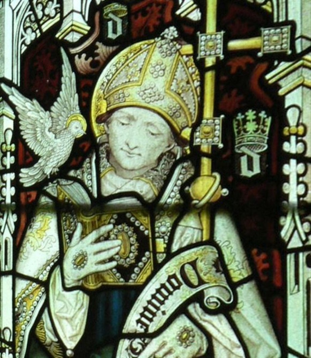 St David - The Patron Saint of Wales