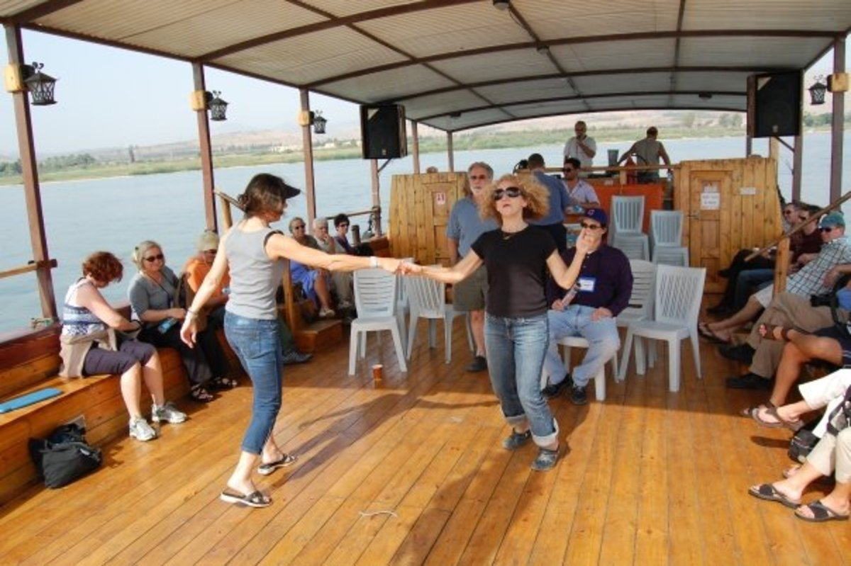 DANCING ON THE SEA OF GALILEE