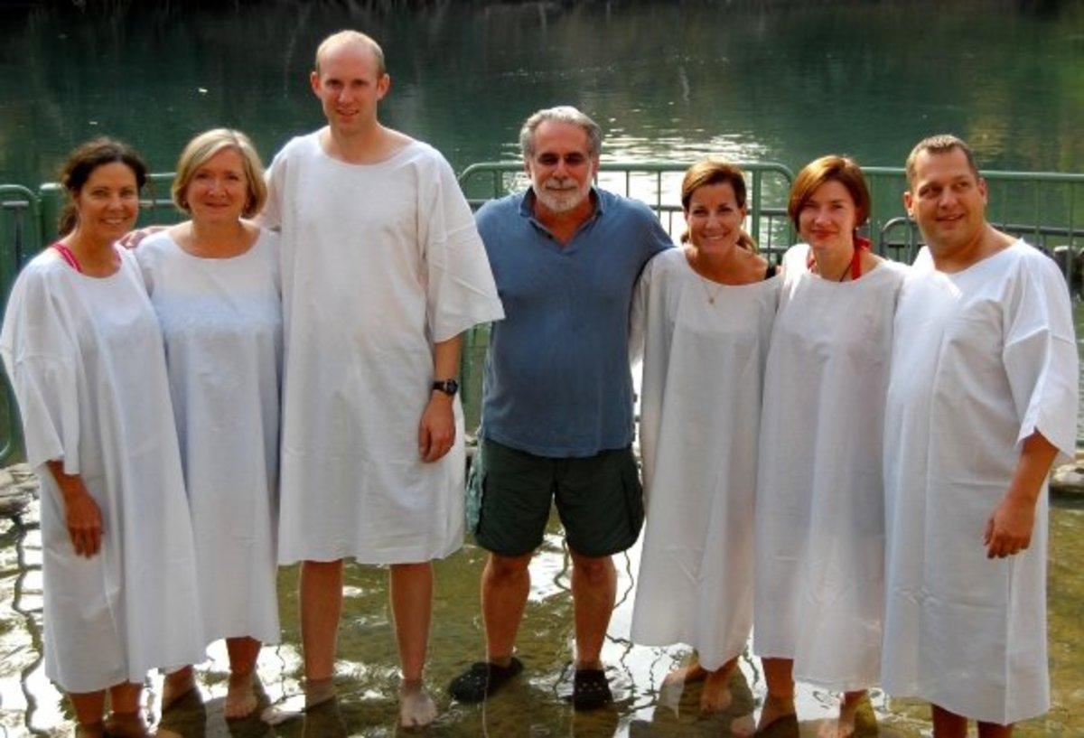 AFTER BAPTISM IN THE RIVER JORDAN
