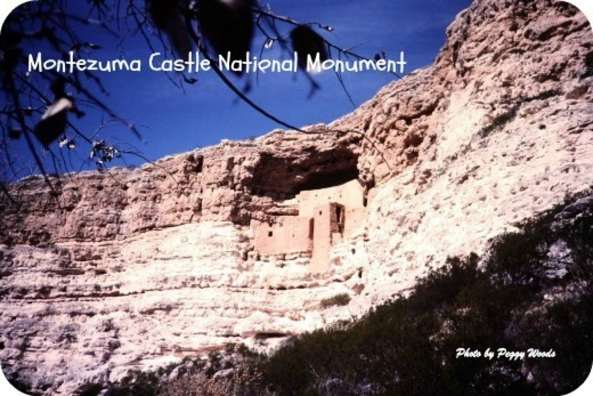 Montezuma Castle National Monument: Arizona Highrise Life in 700 AD