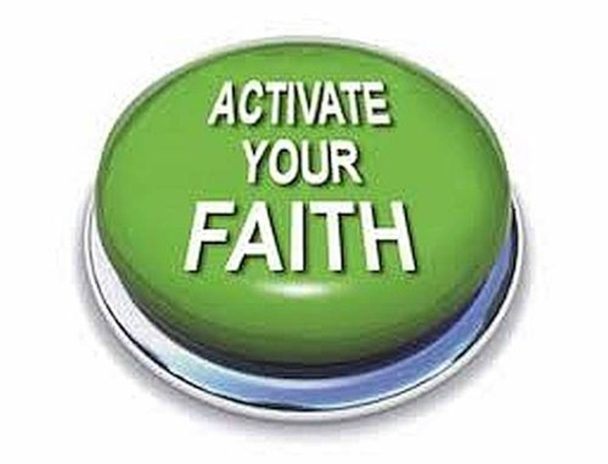 You must activate your faith for it to profit you.