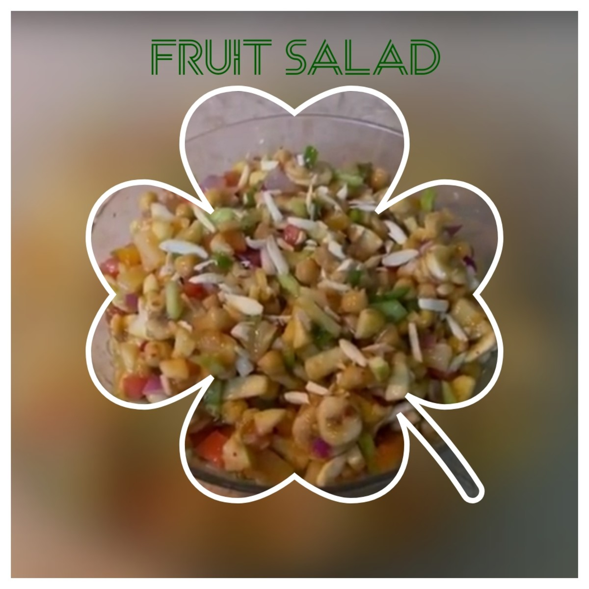 Delicious and Special Fruit Salad