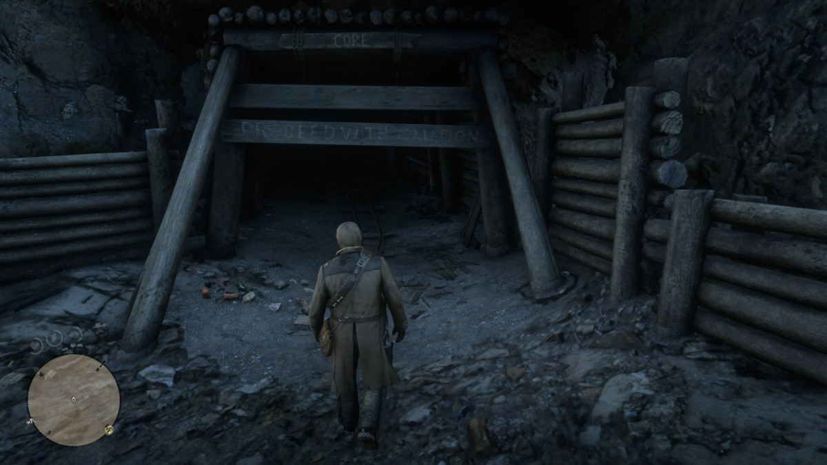 Finding The Wide Blade Knife and Miner's Helmet in Red Dead Redemption 2