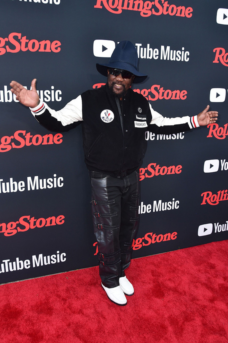 Toots Hibbert at arrivals for Rolling Stone The Relaunch Presented by YouTube Music, July 2018