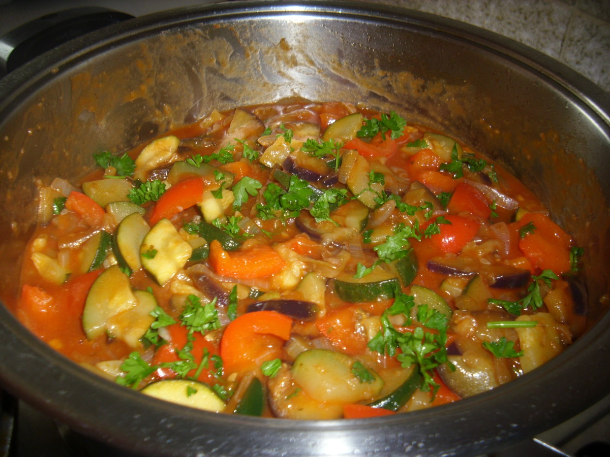 How To Cook A Vegetarian Ratatouille