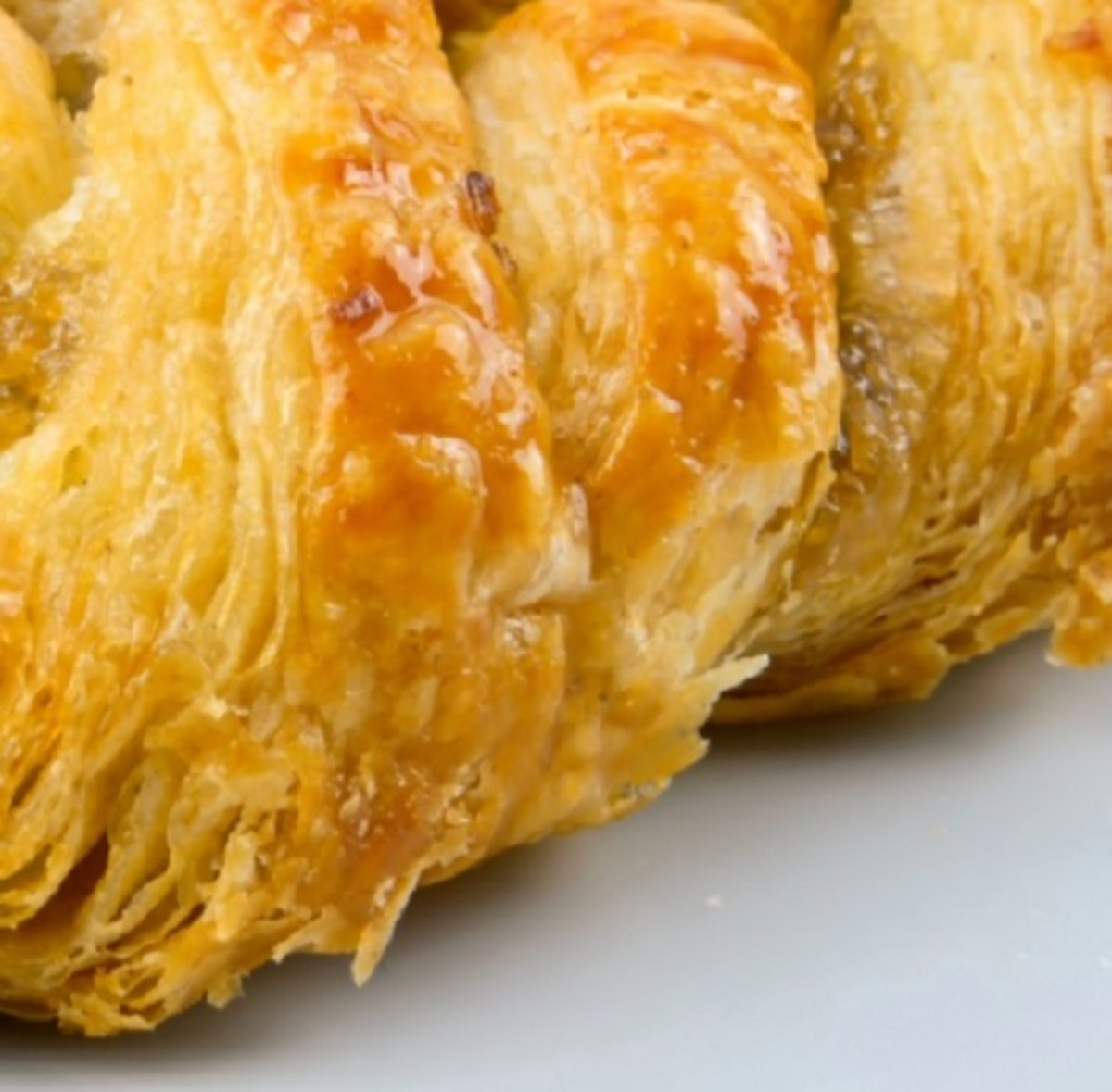 Layers and layers of flaky croissant-ness