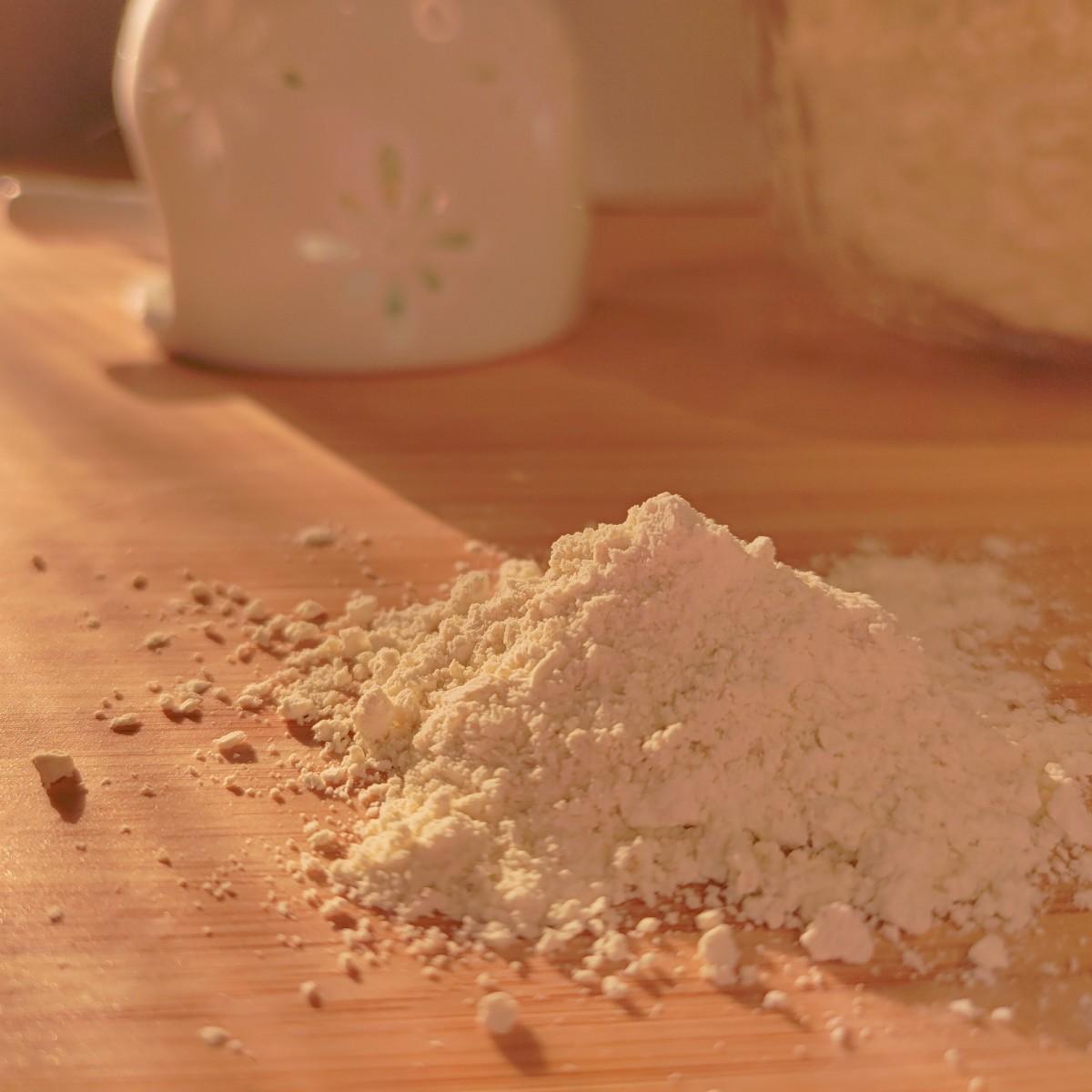 Bread flour for baking croissants