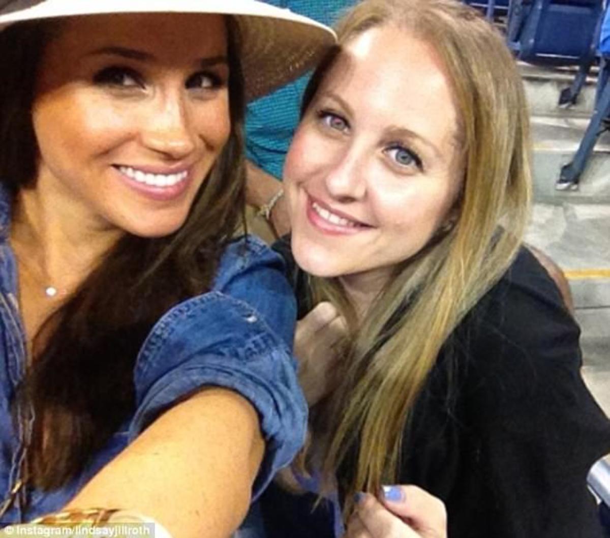Meghan Markle and friend Lindsay Roth