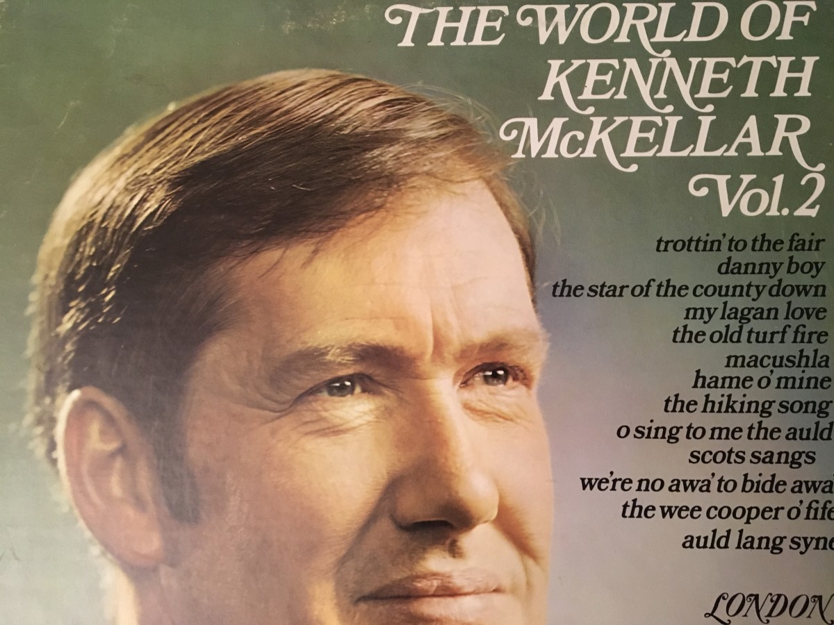 The cover of one of my family's Kenneth McKellar records