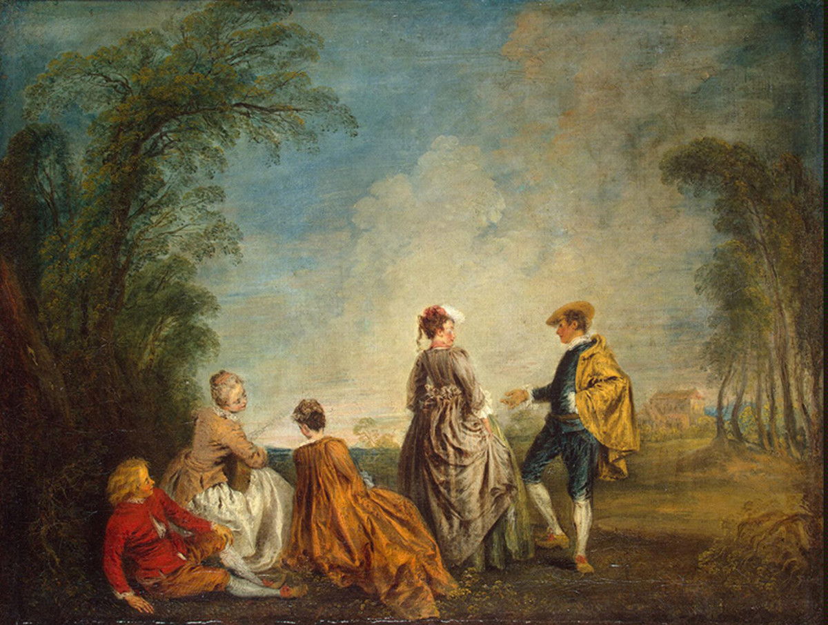 a biography and life work of jean antoine watteau a french rococo artist Antoine watteau 1684-1721 french rococo painter influences - rembrandt, rubens historian richard muther describes watteau's rather tragic life and brilliant work, in paris jean antoine watteau.