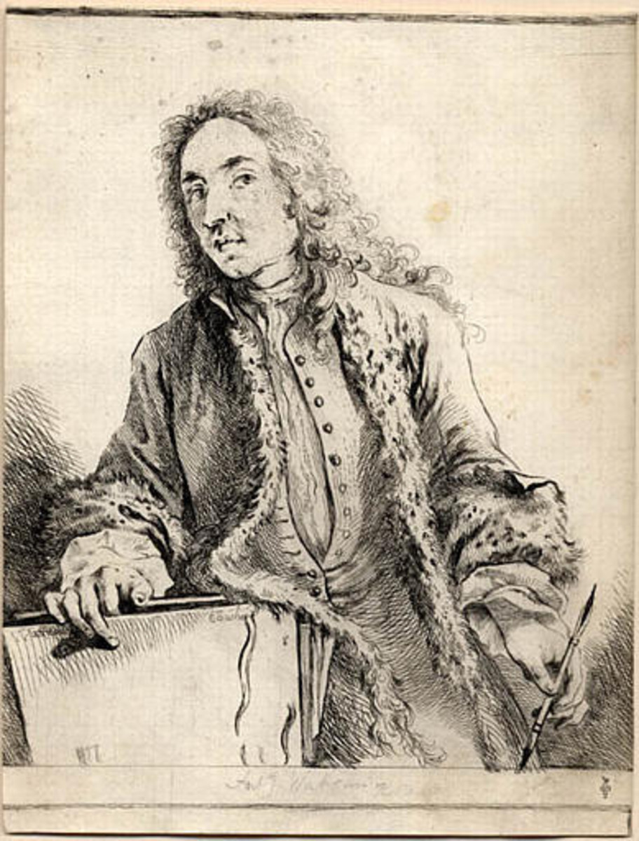Artists Who Died Before 40:  Jean-Antoine Watteau