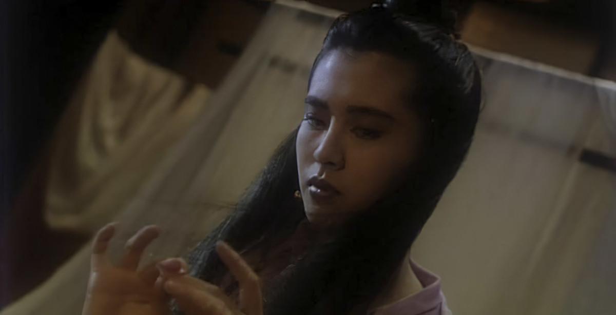 Joey Wong as Nie Xiaoqian in A Chinese Ghost Story (1987).