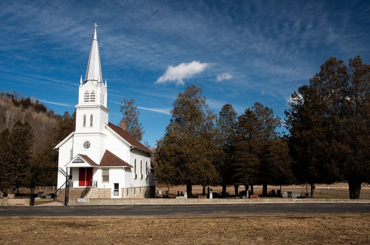The old country churches are a thing of the past and so is the real Gospel.