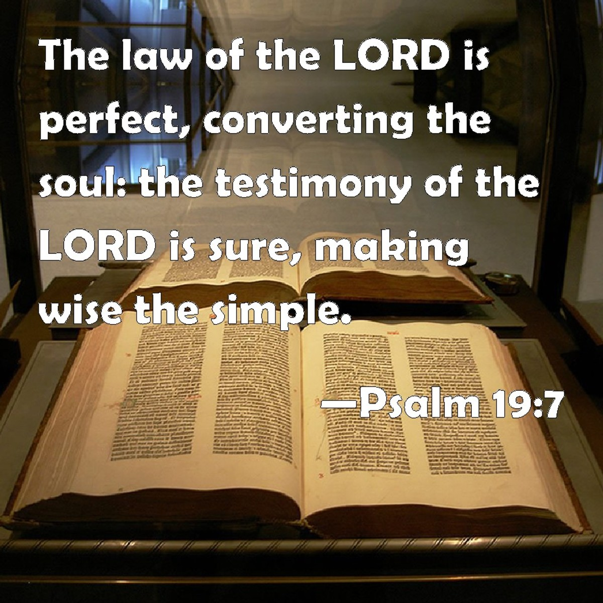 There is no Gospel without the Law, only the traditions of man.