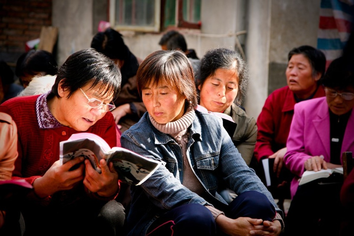 This scene is one of thousands all over China as the Gospel is demonstrated with power.