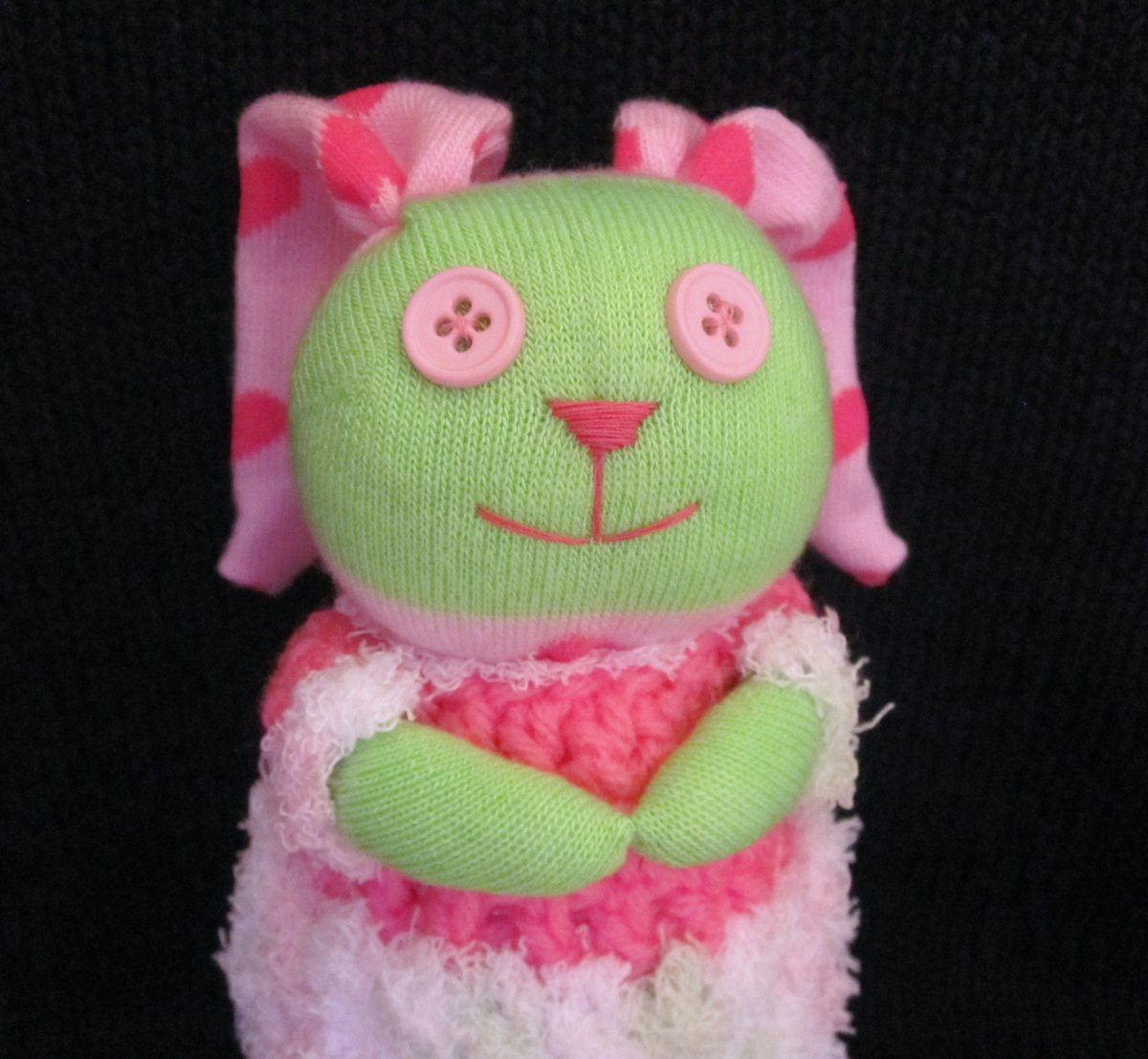 Scrap Bunnies, How to Make Adorable Stuffed Bunnies Out of Socks and Craft Scraps.