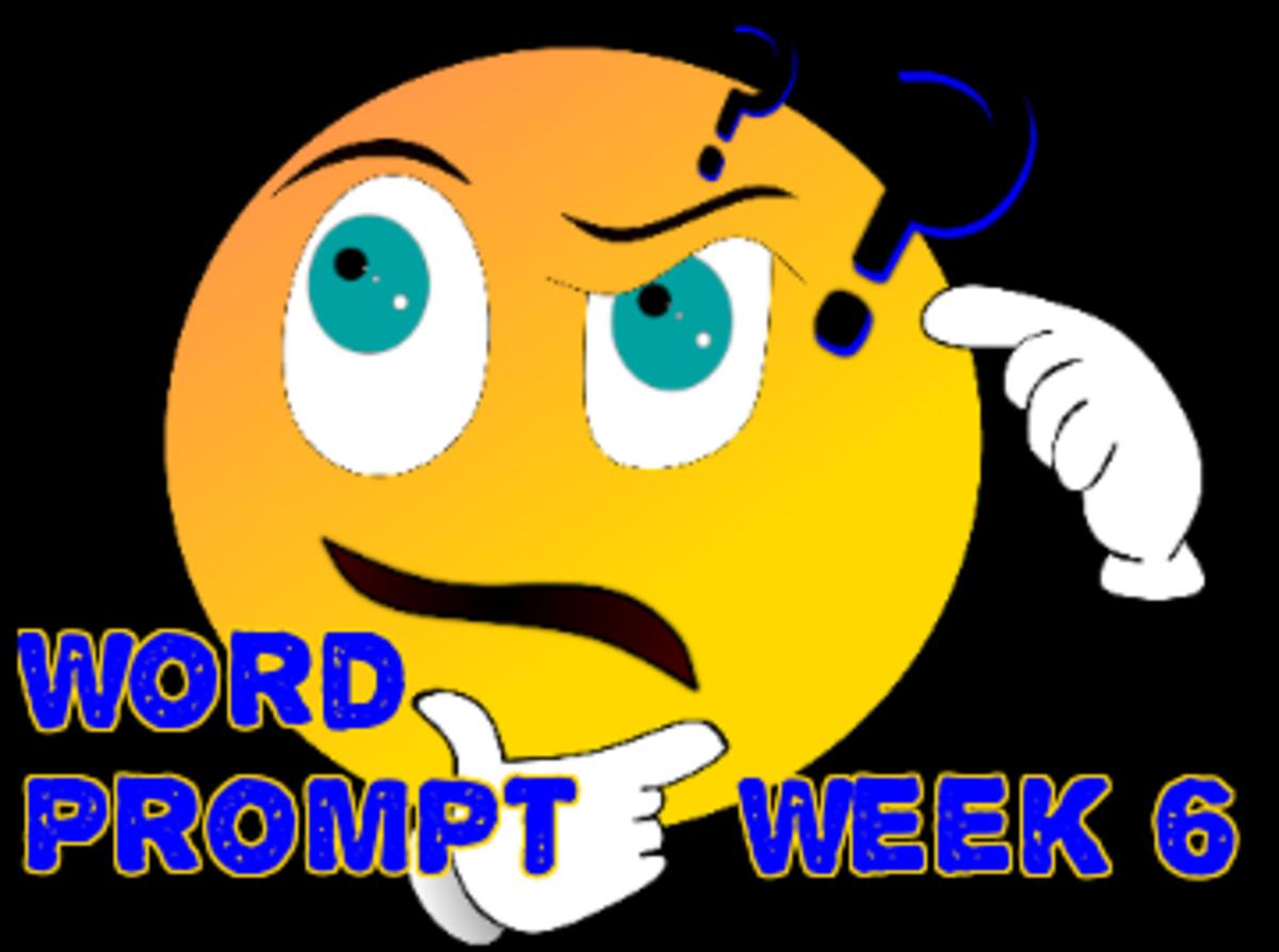Word Prompts Help Creativity / Week 6