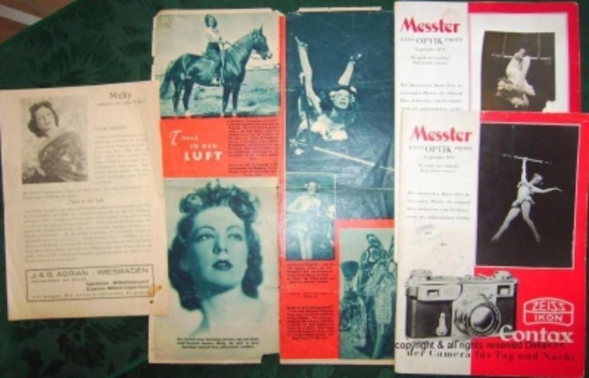 Memorabilia from the Circus days