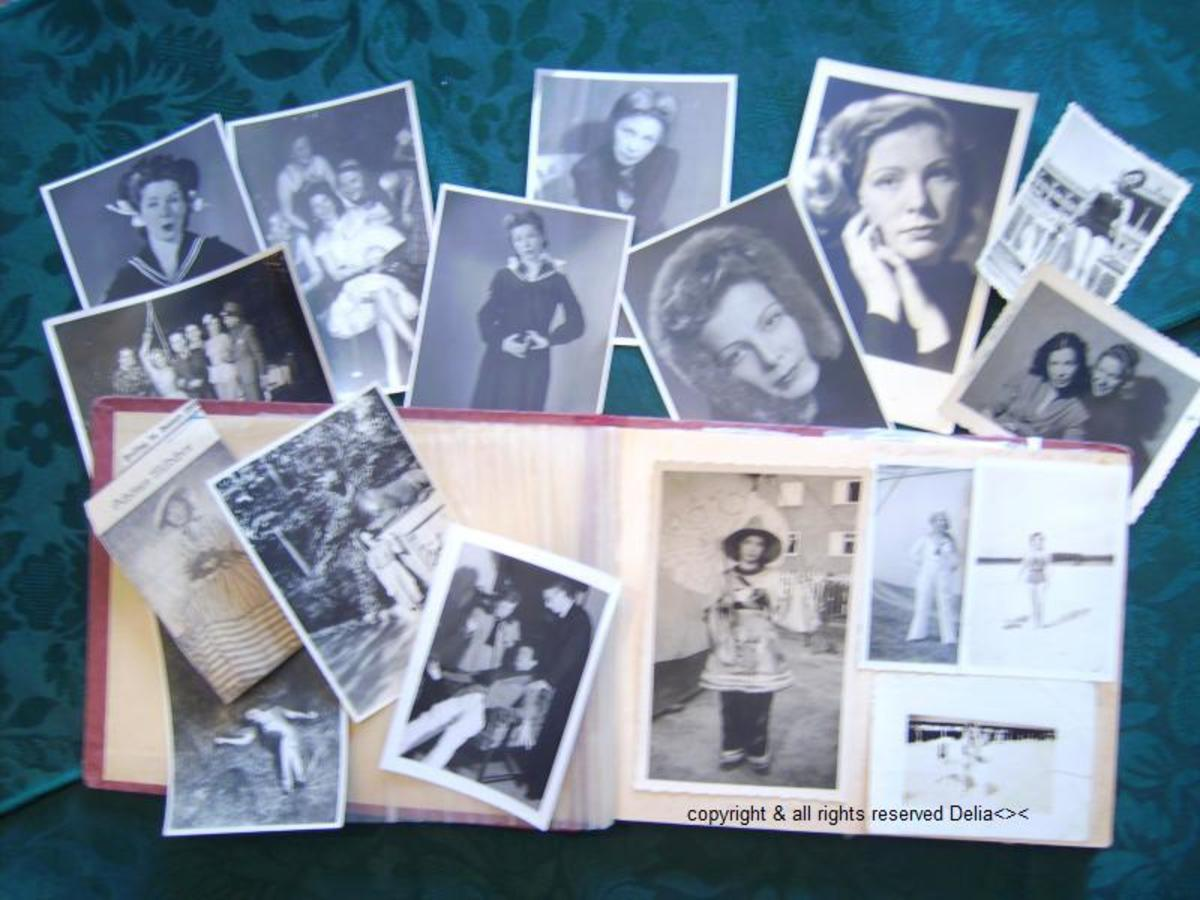 Inside mom's photo album