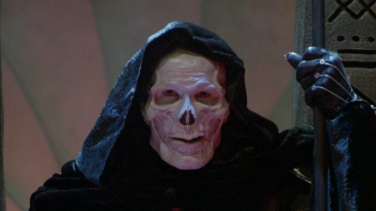 Langella's gleeful performance as Skeletor saves the film from becoming a total wreck and is far better than the film deserves.