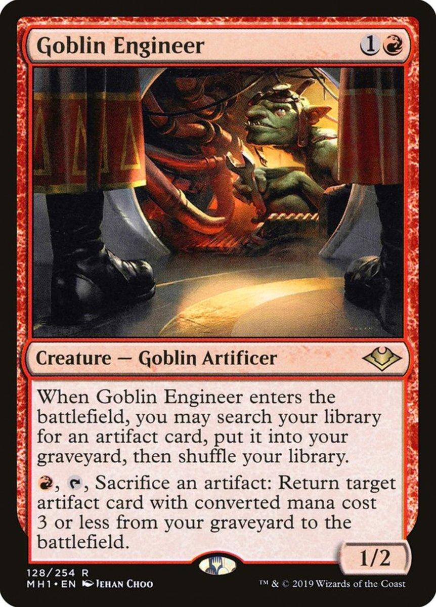 Goblin Engineer mtg