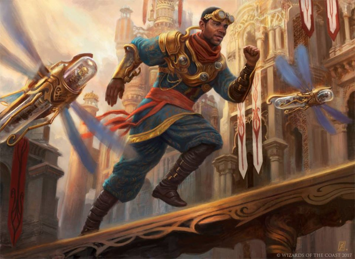 Artificers are often Izzet (red/blue)