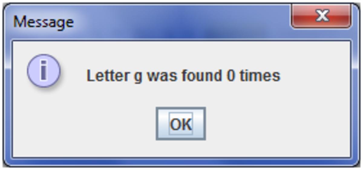 Program output with logical error