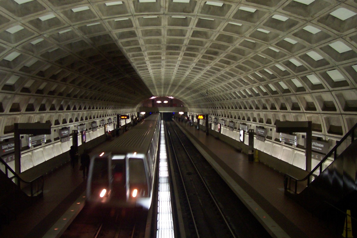 Washington D.C. Metro Station