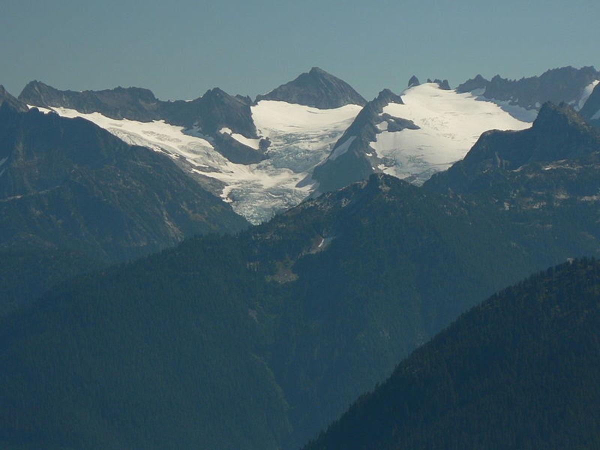 McAllister Glacier in North Cascades National Park