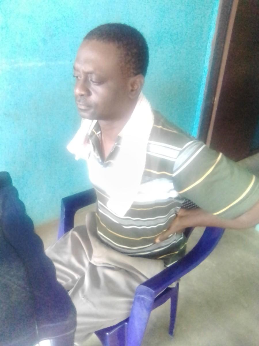 Olusegun, back pain