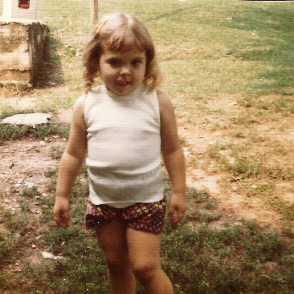 """My cousin grew up with the nickname """"Pudge"""" and even at 30 people called her that."""