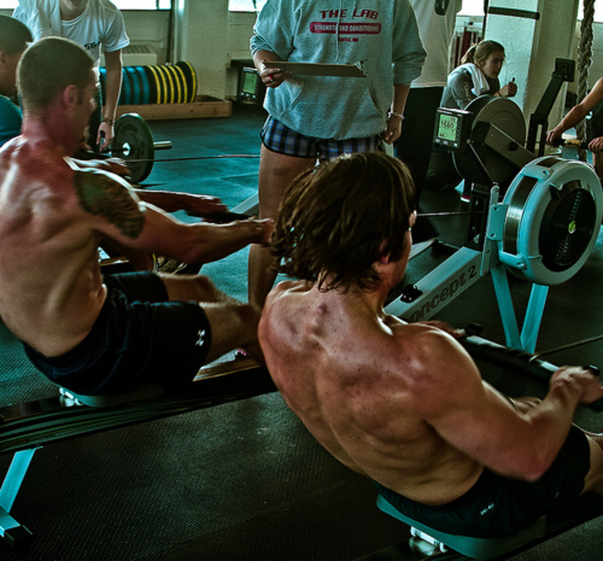 Rowing machines can help develop a great physique. They offer a great workout for many gym goers- Not just the superfit.